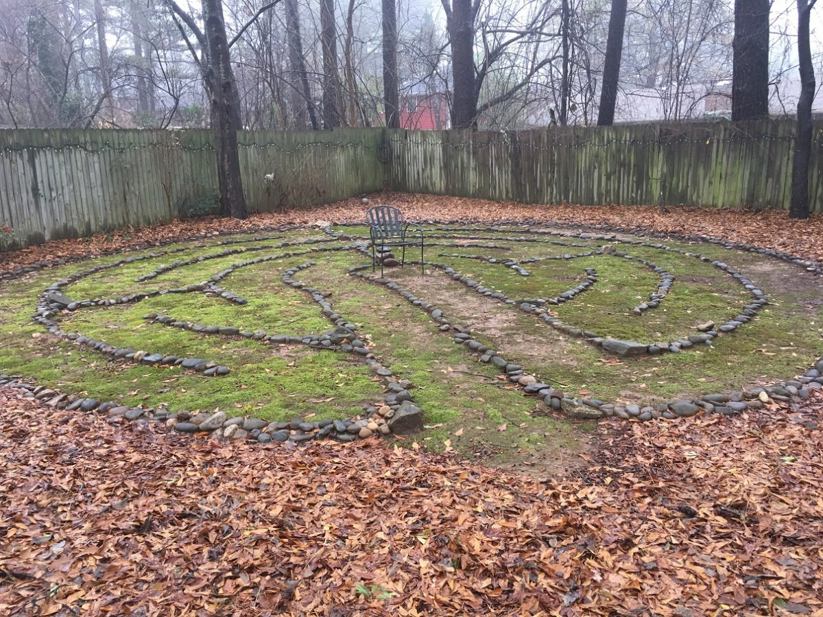 Visdale labyrinth fall 2015