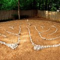 How the labyrinth looked when installed in 2008